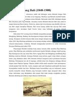 Sejarah Perang Bali