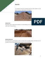 Construcción Terraplén y Sobretamaño