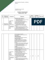 Planificare Şcoala Postliceală Sanitară AMG