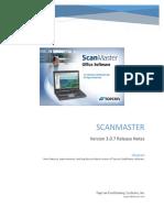 ScanMaster v3.0.7 Release Notes