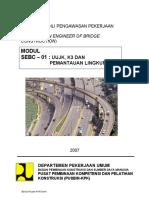 2007-01-UUJK, K3 Dan Pemantauan Lingkungan