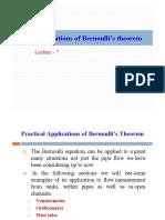 Lecture 7 Bernoullis Applications