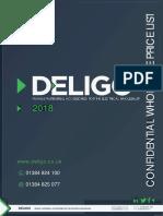 Deligo 2018 Catalogue