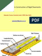 Satander Kumar QC Rigid Pavement