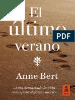 Anne Bert, «El último verano»