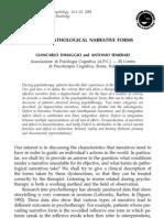 Dimaggio - Psycho Pathological Narrative Forms-2001