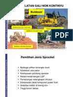 PPTA354-5B Peralatan Penggalian Non Kontinyu