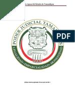 Ley de Aguas Del Estado de Tamaulipas