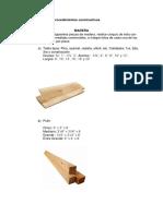 Tipos de madera para la construcción.