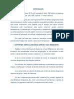 Os Atos Unilaterais Como Importante Fonte de Obrigações Do Direito Brasileiro