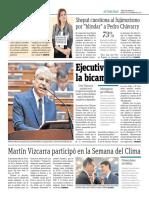 Martin Vizcarra Participó en La Semana Del Clima
