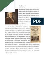 Carl Linnaeus (Print)