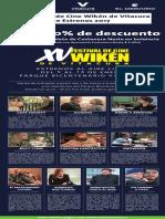 Cartelera Wiken 2017