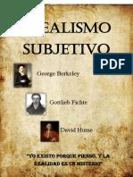 Idealismo Subjetivo (Informe)