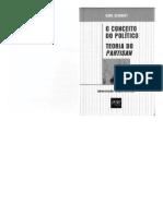 o Conceito de Politico Carl Schmitt