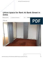 Office Space for Rent at Bank Street in Doha - Qatar