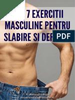 Top 7 Exercitii Slabire Si Definire