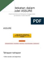 pendekatan model assure