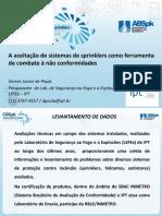 CBSpk 2016 Deives Junior de Paula Aceitacao Sistemas Sprinklers Combate Nao Conformidades
