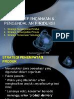 Perencanaan Pengendalian Produksi Pertemuan 2