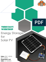 Energy Storage for Solar PV Brochure