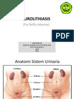 Urolithiasis (Batu Saluran Kemih)