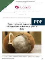 Como Consumir Cupuaçu_ Veja Receitas Fáceis e Deliciosas Para a Dieta