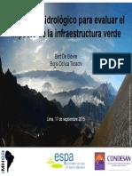 Monitoreo Hidrologico Para Evaluar El Impacto en Infrestructura Verde, Bert DeBievre