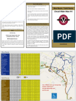 Warrenton Weekday Blue and Gold Route Brochure 102018