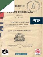 Ottoni Elementos de Algebra 4ed 1879