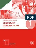 Lenguaje y Comunicación 1º básico - Guía didáctica del docente tomo 2.pdf