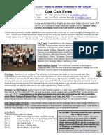 Cox News Volume 8 Issue 6
