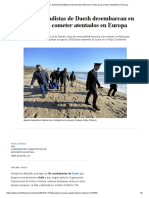Estado Islámico_ Hasta 50 Yihadistas de Daesh Desembarcan en Italia Para Cometer Atentados en Europa