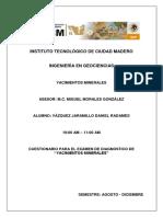322526835 Cuestionario de Yacimientos Minerales V