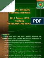UU No.1 tahun 1970.ppt