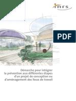 INRS Prévention Et Aménagement Des Lieux de Travail Ed937
