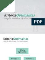 Pertemuan 2a - Kriteria Optimalitas Dan Hessian Matriks (1)