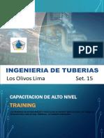 Curso Ingenieria de Tuberias SET 2018