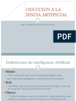 Clase 1introduccion a La Inteligencia Artificial