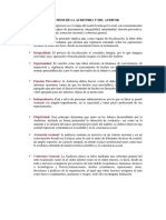 Principios de La Auditoria y Del Auditor