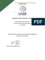 Análisis Factorial Confirmatorio de La Adaptación Argentina de La Escala de Procrastinación de Tuckman (ATPS)