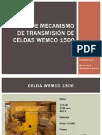 Cambio de Mecanismo de Transmision de Celdas Wemco