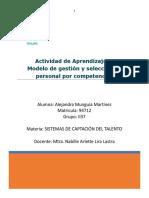 Modelo de gestión y selección de personal por competencias
