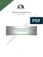 Programa Ensenanza LE