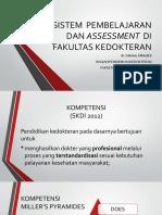 kp 1.1.1.8 SISTEM  PEMBELAJARAN DAN ASSESSMENT  DI FAKULTAS   KEDOKTERAN.pptx