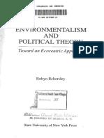 Eckersley, R. (1992) - Ecosocialismo
