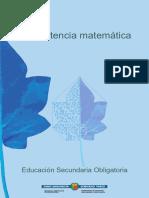 Competencia Matematica en La Educacion Secundaria Ccesa007