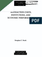 Douglas North Institutions