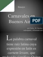 Carnaval en la provincia de Buenos Aires