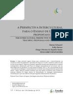 2014. a Perspectiva Intercultural, Propostas e Desafios